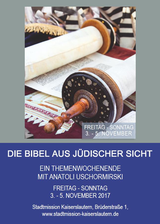 Bibel aus jüdischer Sicht1